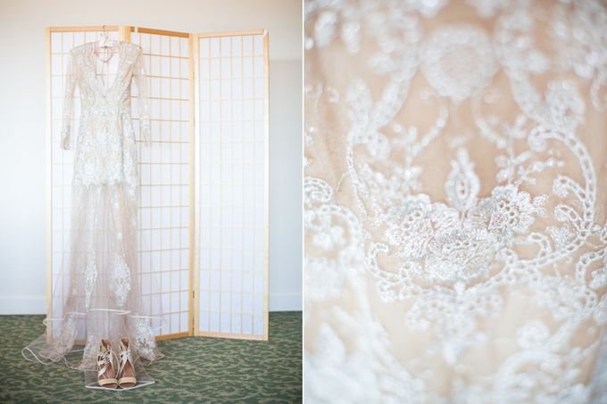 Modern, Fashion forward wedding at The Montecito Country Club by Kiel Rucker Photography - 002