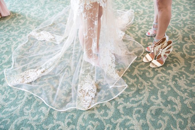 Modern, Fashion forward wedding at The Montecito Country Club by Kiel Rucker Photography - 007