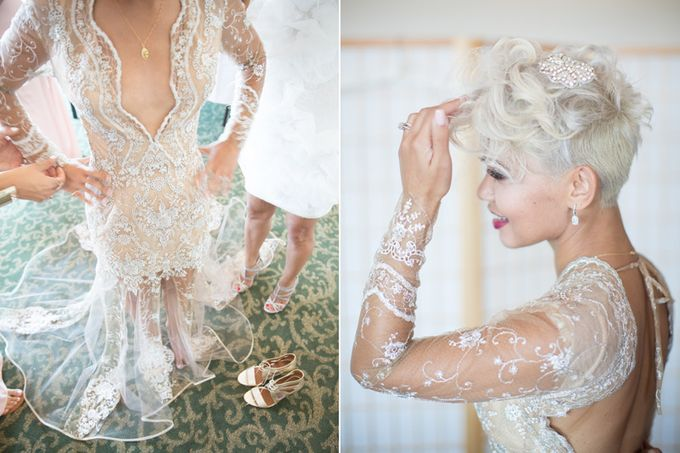 Modern, Fashion forward wedding at The Montecito Country Club by Kiel Rucker Photography - 008