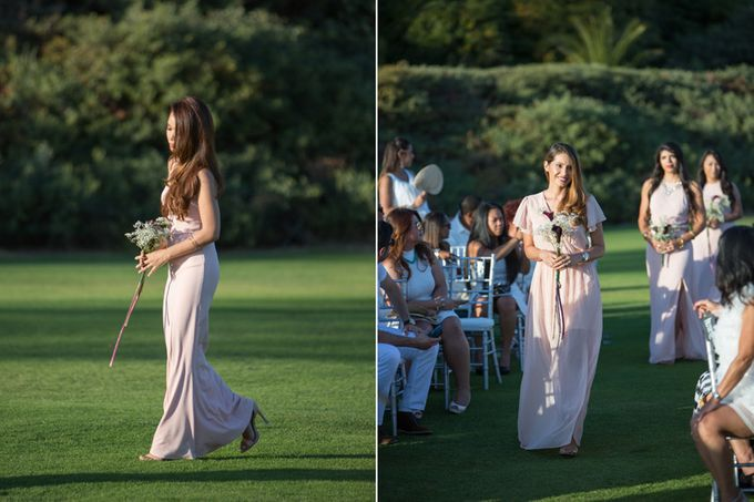 Modern, Fashion forward wedding at The Montecito Country Club by Kiel Rucker Photography - 015