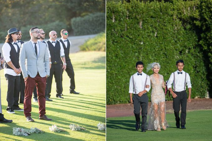 Modern, Fashion forward wedding at The Montecito Country Club by Kiel Rucker Photography - 018