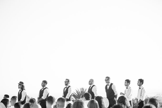 Modern, Fashion forward wedding at The Montecito Country Club by Kiel Rucker Photography - 021