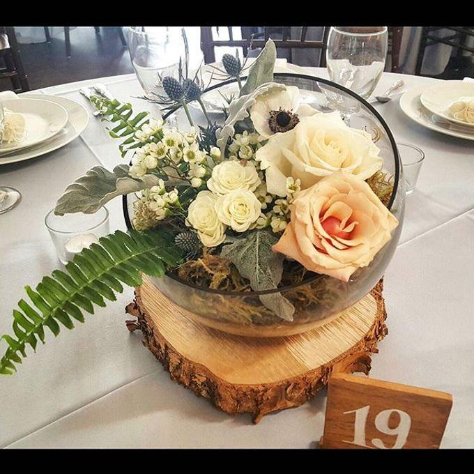 Rustic Wedding by Esmae Event Floral Design - 005