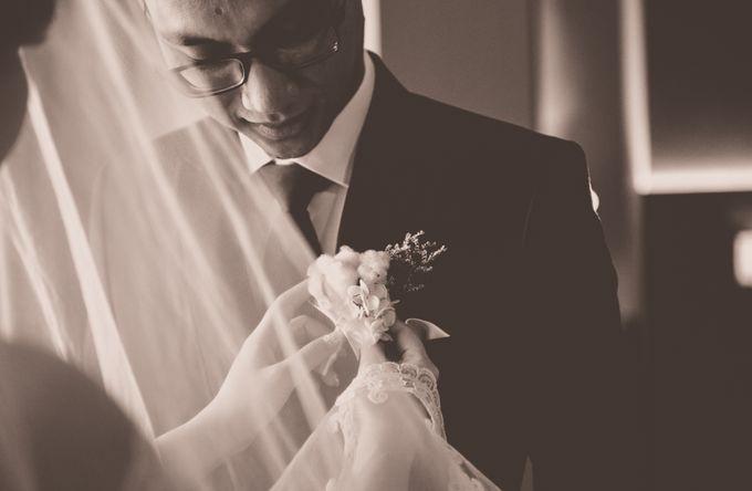 Denny & Clarissa Wedding by MariMoto Productions - 008