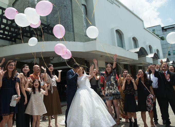 Denny & Clarissa Wedding by MariMoto Productions - 010