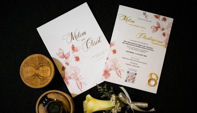 Chris + Melissa Wedding by Double Happiness Wedding Organizer - 002