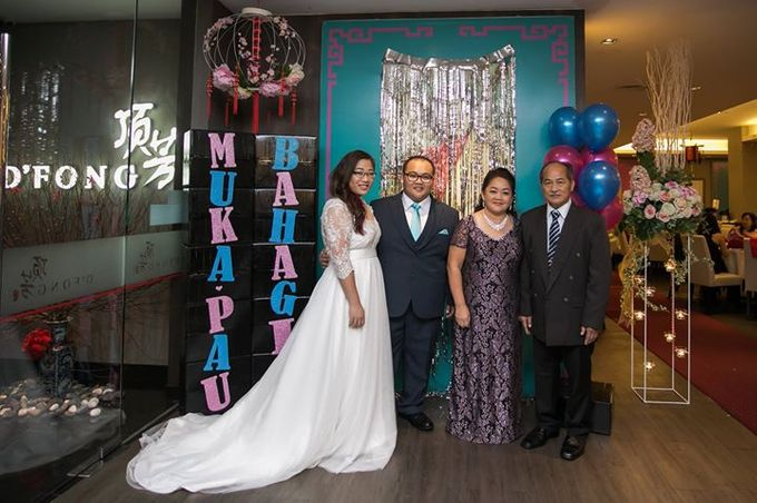 Real Brides And Weddings In Bespoke Emcee Couture by Emcee Couture - 010