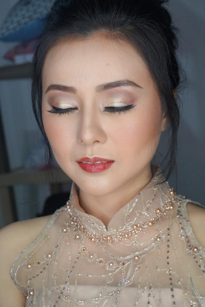 Ms Khaty (Sangjit Look) by MRS Makeup & Bridal - 005