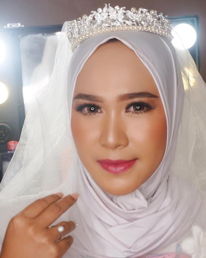 Ms. Alin (Hijab Bride) by MRS Makeup & Bridal - 001