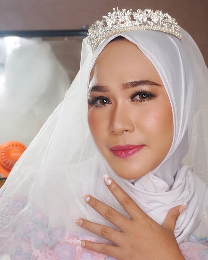 Ms. Alin (Hijab Bride) by MRS Makeup & Bridal - 002