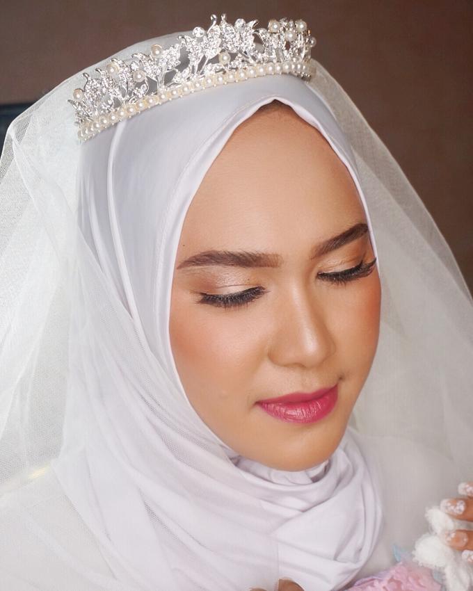 Ms. Alin (Hijab Bride) by MRS Makeup & Bridal - 003