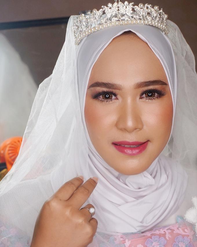 Ms. Alin (Hijab Bride) by MRS Makeup & Bridal - 005