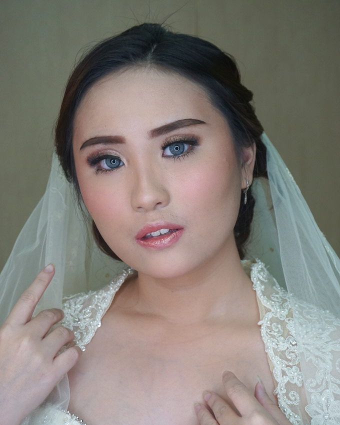 Ms. Eileen (Holy Matrimony) by MRS Makeup & Bridal - 006
