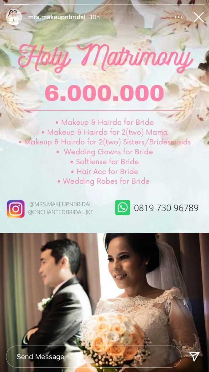 MAKEUP PACKAGE DEALS by MRS Makeup & Bridal - 003