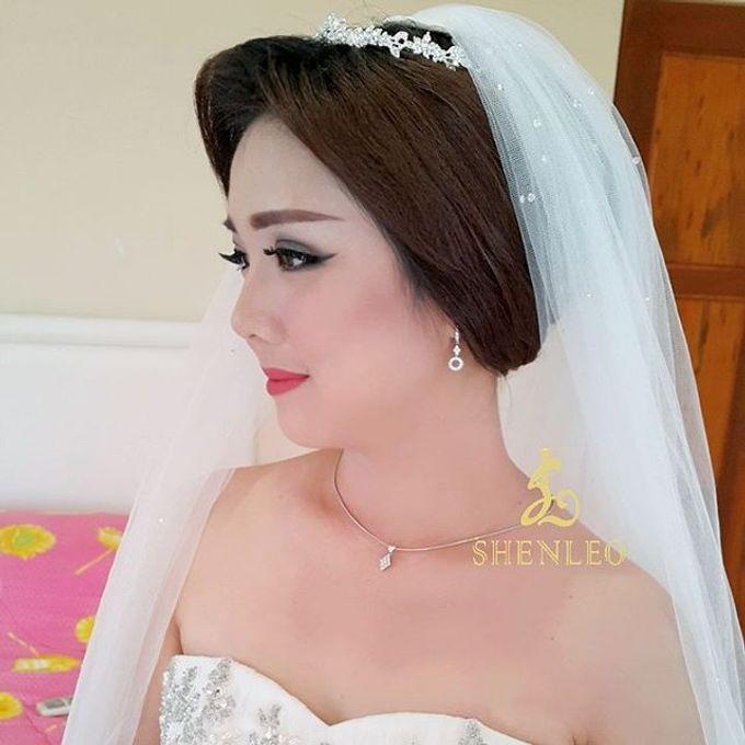 wedding makeup by ShenLeo Makeup - 005