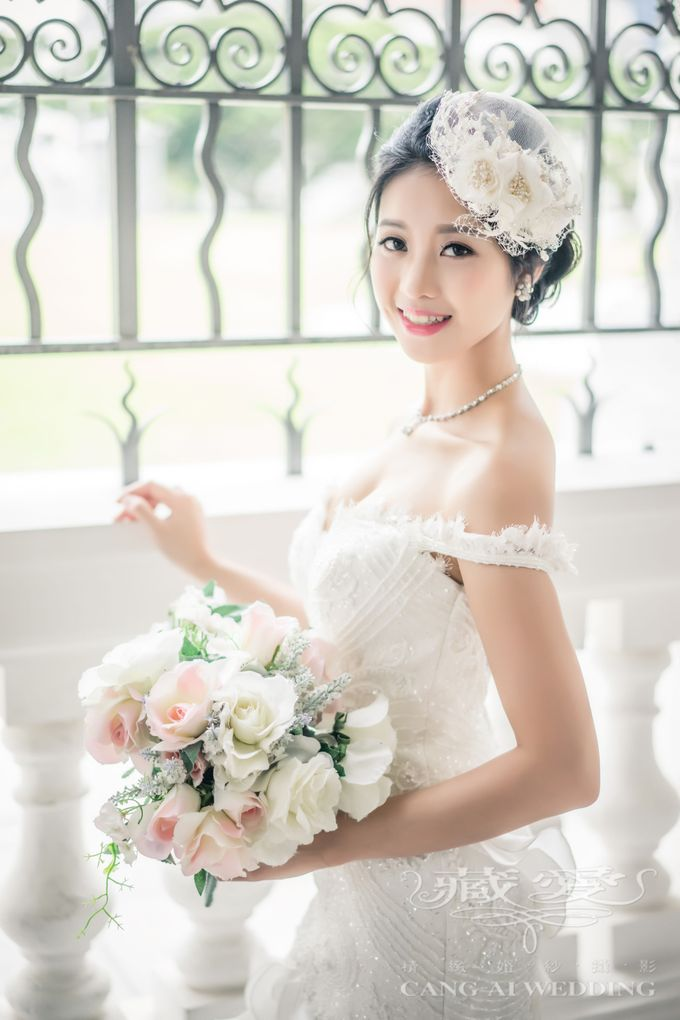 Makeup and Styling of our Brides by Cang Ai Wedding - 003