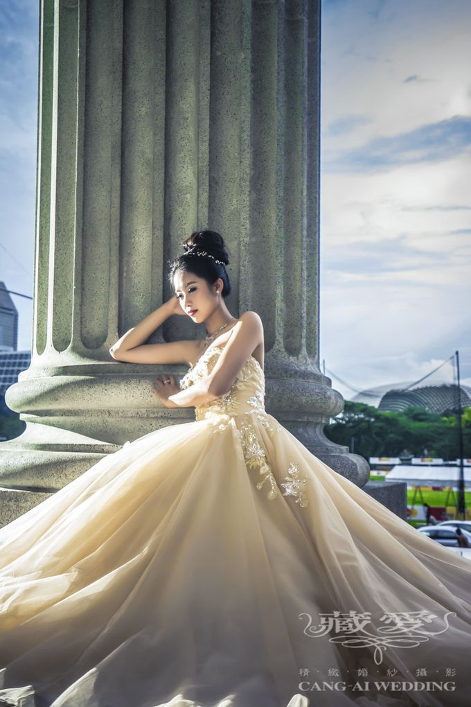 Makeup and Styling of our Brides by Cang Ai Wedding - 004