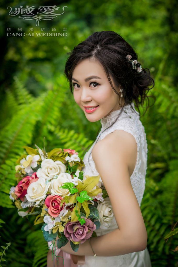 Makeup and Styling of our Brides by Cang Ai Wedding - 005