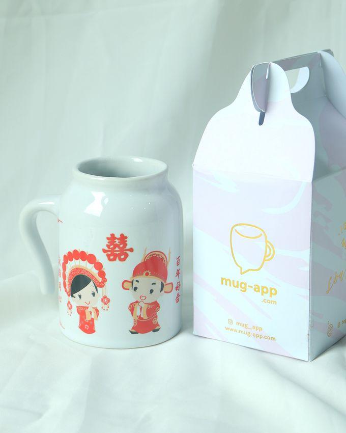 NEW ITEM MUG GUCI by Mug-App Wedding Souvenir - 001