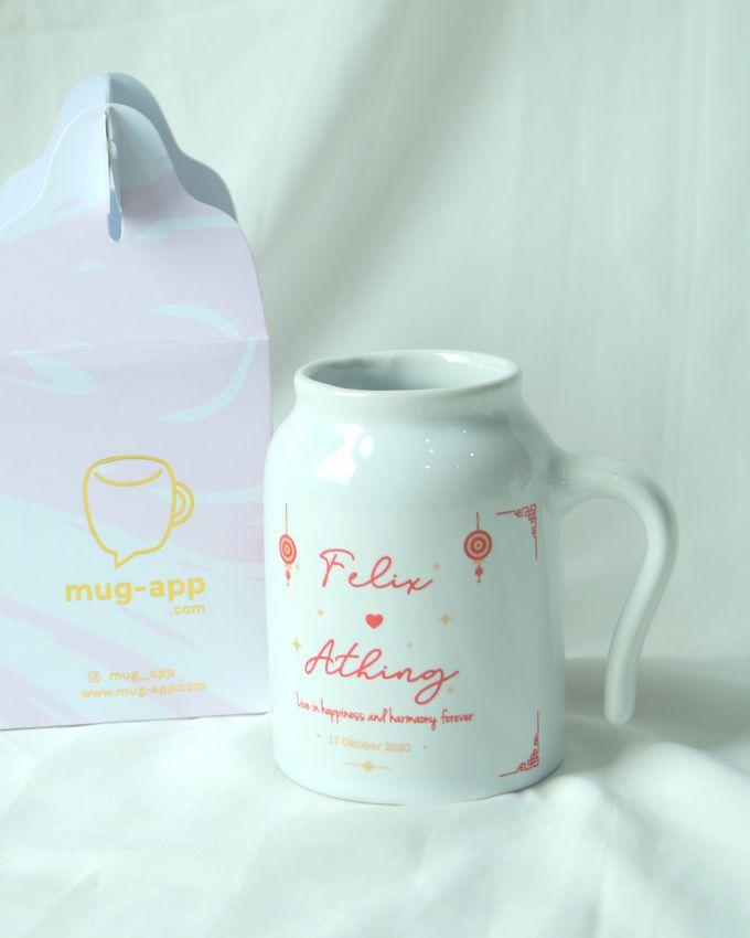 NEW ITEM MUG GUCI by Mug-App Wedding Souvenir - 002