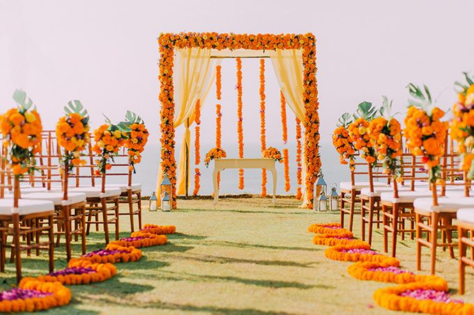Wedding at Bayuh Sabbah Villas by d'Oasis Florist & Decoration - 006