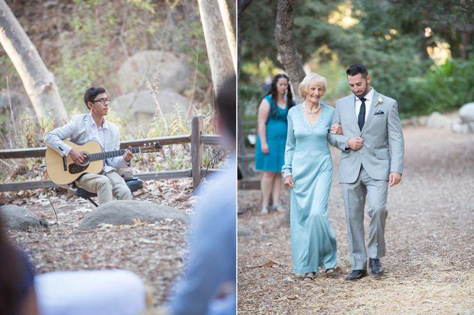 Enchanted wedding in the woods of Santa Barbara, California by Kiel Rucker Photography - 015