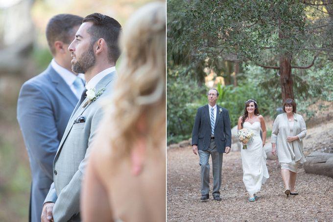 Enchanted wedding in the woods of Santa Barbara, California by Kiel Rucker Photography - 018