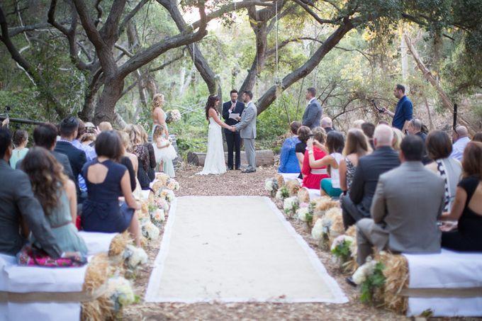 Enchanted wedding in the woods of Santa Barbara, California by Kiel Rucker Photography - 020