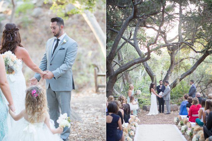 Enchanted wedding in the woods of Santa Barbara, California by Kiel Rucker Photography - 021