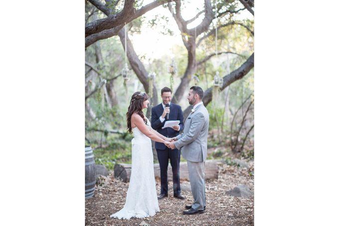Enchanted wedding in the woods of Santa Barbara, California by Kiel Rucker Photography - 022