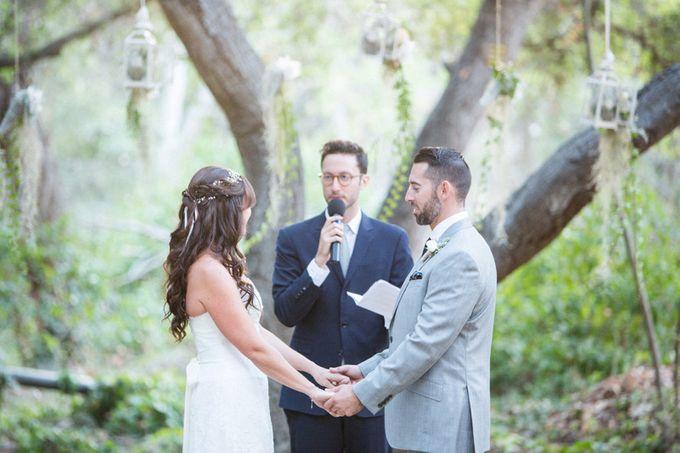 Enchanted wedding in the woods of Santa Barbara, California by Kiel Rucker Photography - 023