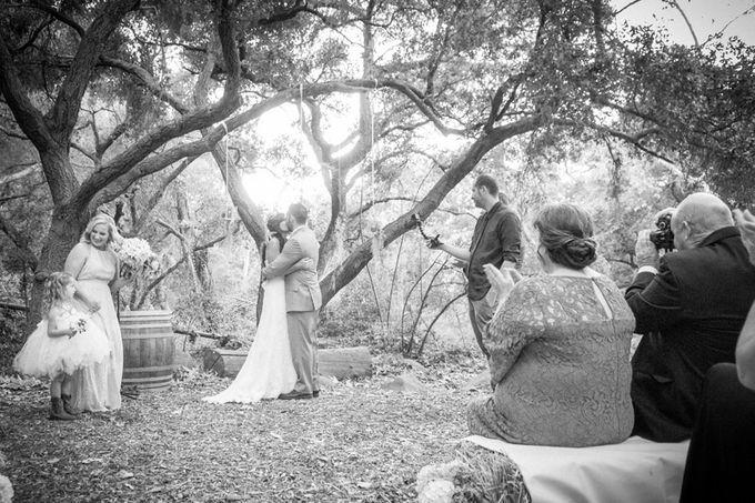 Enchanted wedding in the woods of Santa Barbara, California by Kiel Rucker Photography - 025
