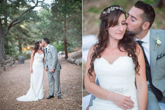 Enchanted wedding in the woods of Santa Barbara, California by Kiel Rucker Photography - 029
