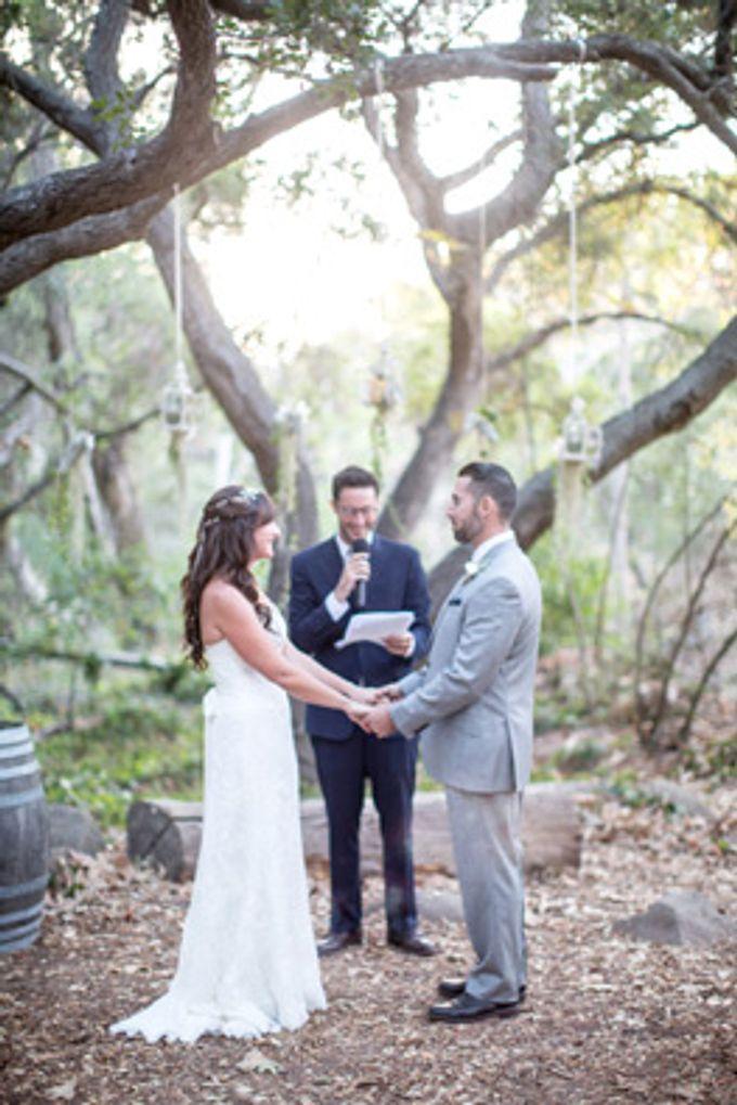 Enchanted wedding in the woods of Santa Barbara, California by Kiel Rucker Photography - 039