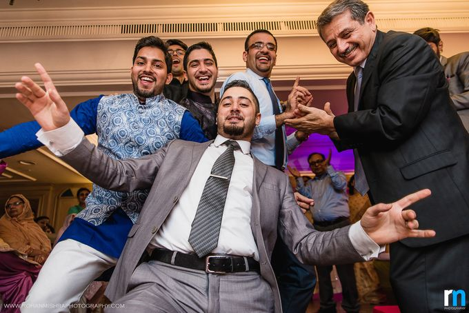 Sana & Abdullah- A unique Iraqi-Indian Muslim Wedding in