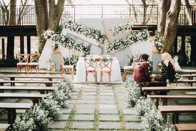 The Wedding of Muthia & Hary by Elior Design - 007