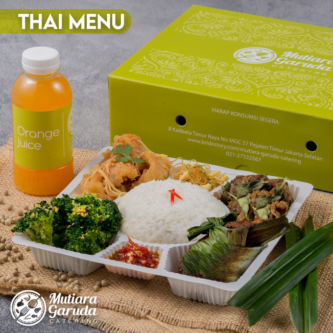 Rice Box MGC / Lunch Box MGC by Mutiara Garuda Catering - 001