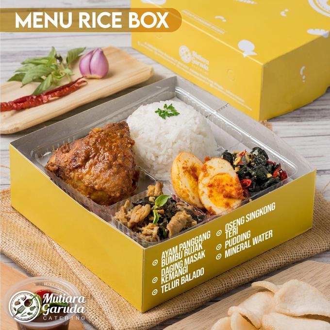 Rice Box MGC / Lunch Box MGC by Mutiara Garuda Catering - 020