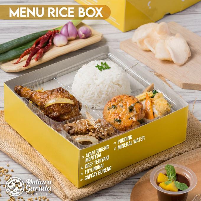 Rice Box MGC / Lunch Box MGC by Mutiara Garuda Catering - 021