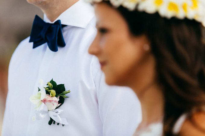 Beach Wedding of Max & Veronika by Gyver Chang Photography - 002
