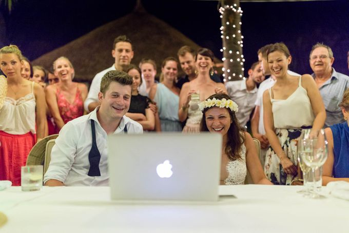 Beach Wedding of Max & Veronika by Gyver Chang Photography - 011