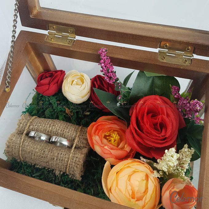 Multi View Box - Politur Coklat   Wedding Ring Bearer Box Indonesia - Celemor by Celemor - 003