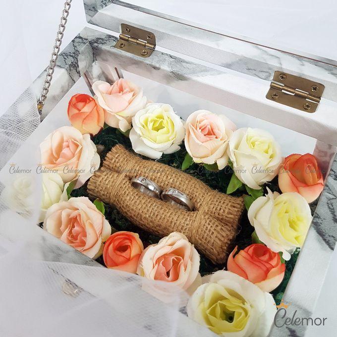 Multi View Box - Marble | Wedding Ring Bearer Box Indonesia - Celemor by Celemor - 001