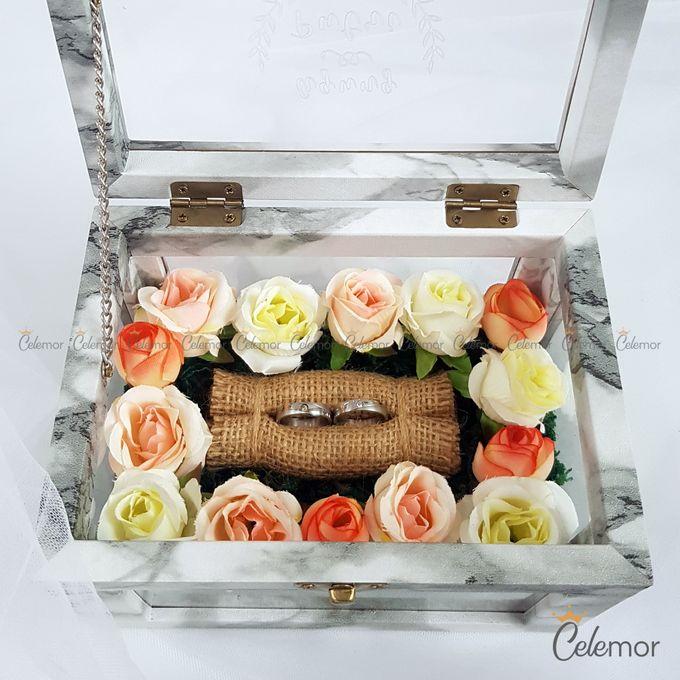 Multi View Box - Marble | Wedding Ring Bearer Box Indonesia - Celemor by Celemor - 002