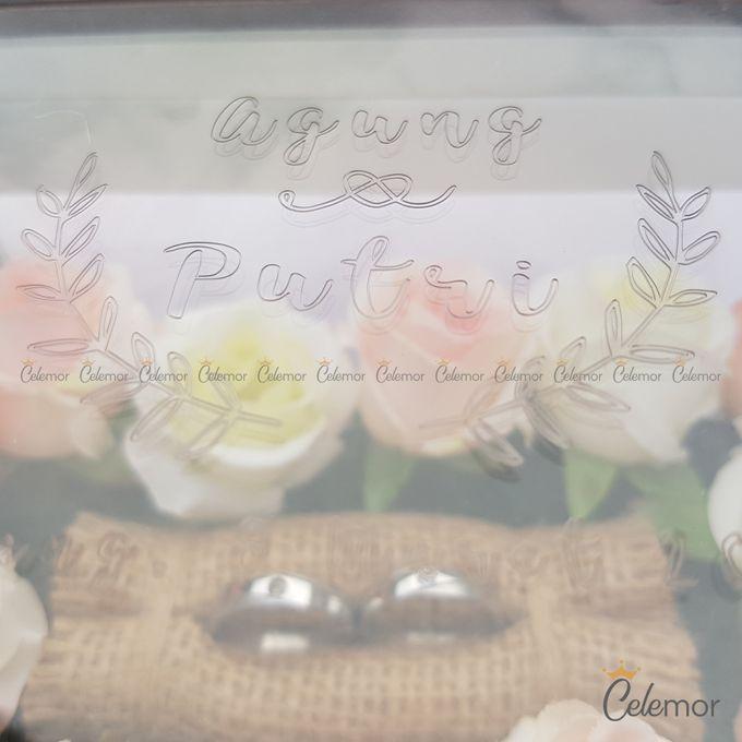 Multi View Box - Marble | Wedding Ring Bearer Box Indonesia - Celemor by Celemor - 003