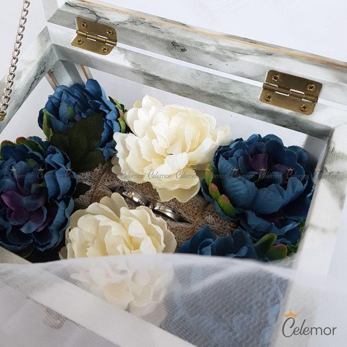 Multi View Box - Marble | Wedding Ring Bearer Box Indonesia - Celemor by Celemor - 004