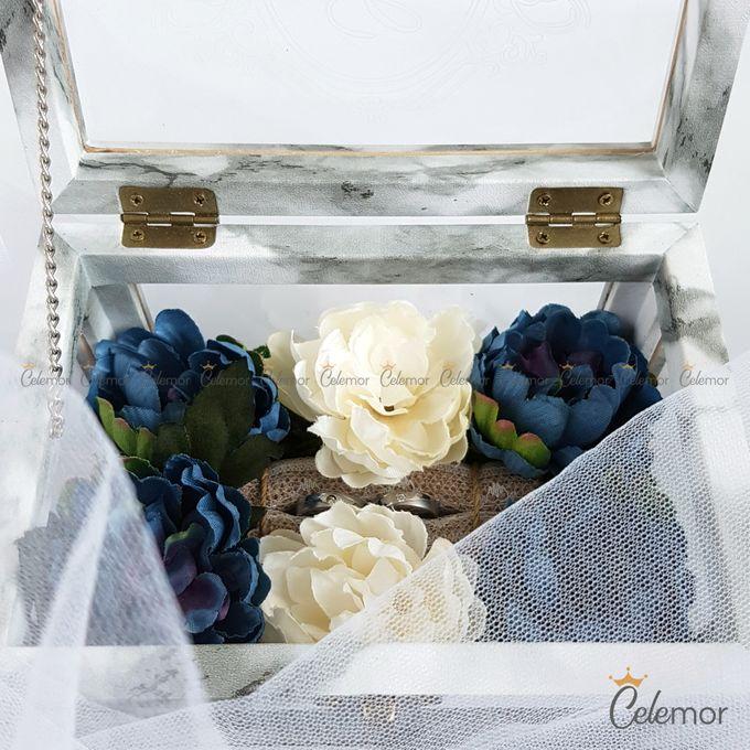 Multi View Box - Marble | Wedding Ring Bearer Box Indonesia - Celemor by Celemor - 005