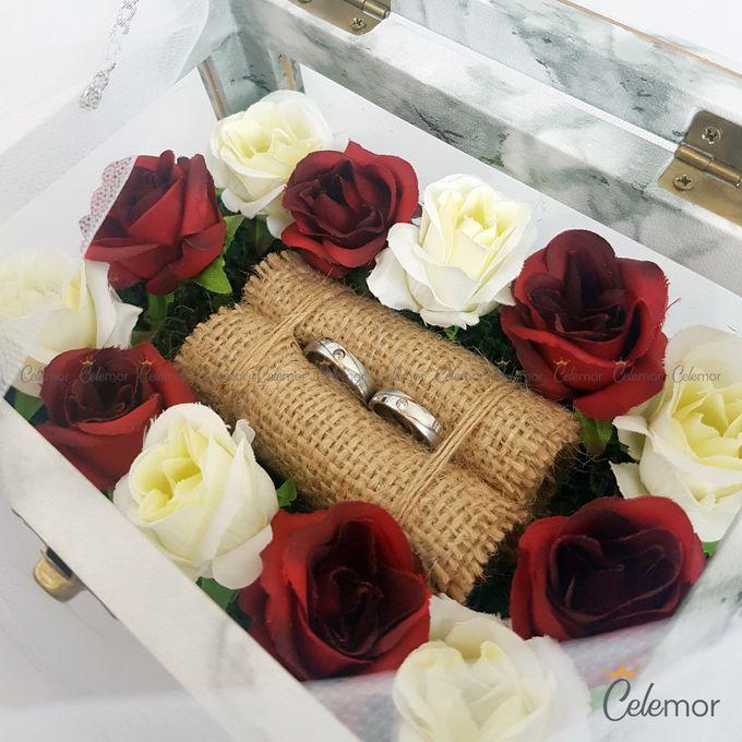 Multi View Box - Marble | Wedding Ring Bearer Box Indonesia - Celemor by Celemor - 007