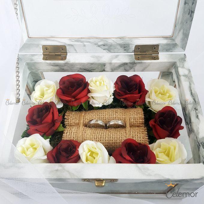 Multi View Box - Marble | Wedding Ring Bearer Box Indonesia - Celemor by Celemor - 008