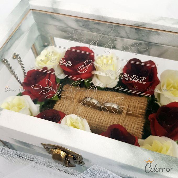 Multi View Box - Marble | Wedding Ring Bearer Box Indonesia - Celemor by Celemor - 009
